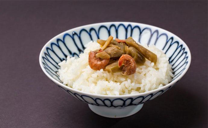 泉州水なす古漬の郷土佃煮です。