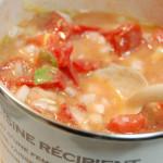 早生玉ねぎとフレッシュトマトの冷製パスタ写真B